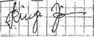 2. ábra: 47 éves férfi aláírása, 59 éves férfi aláírása