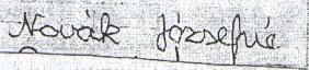 4. ábra: 51 éves nő írása