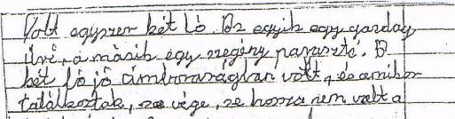 70. ábra: 61 éves nő, képolvasás utáni leírás