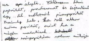 9. ábra: 63 éves férfi írása